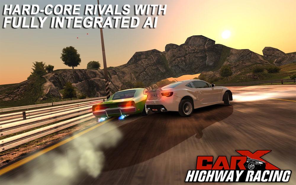 تحميل لعبة carx highway racing للاندرويد مهكرة