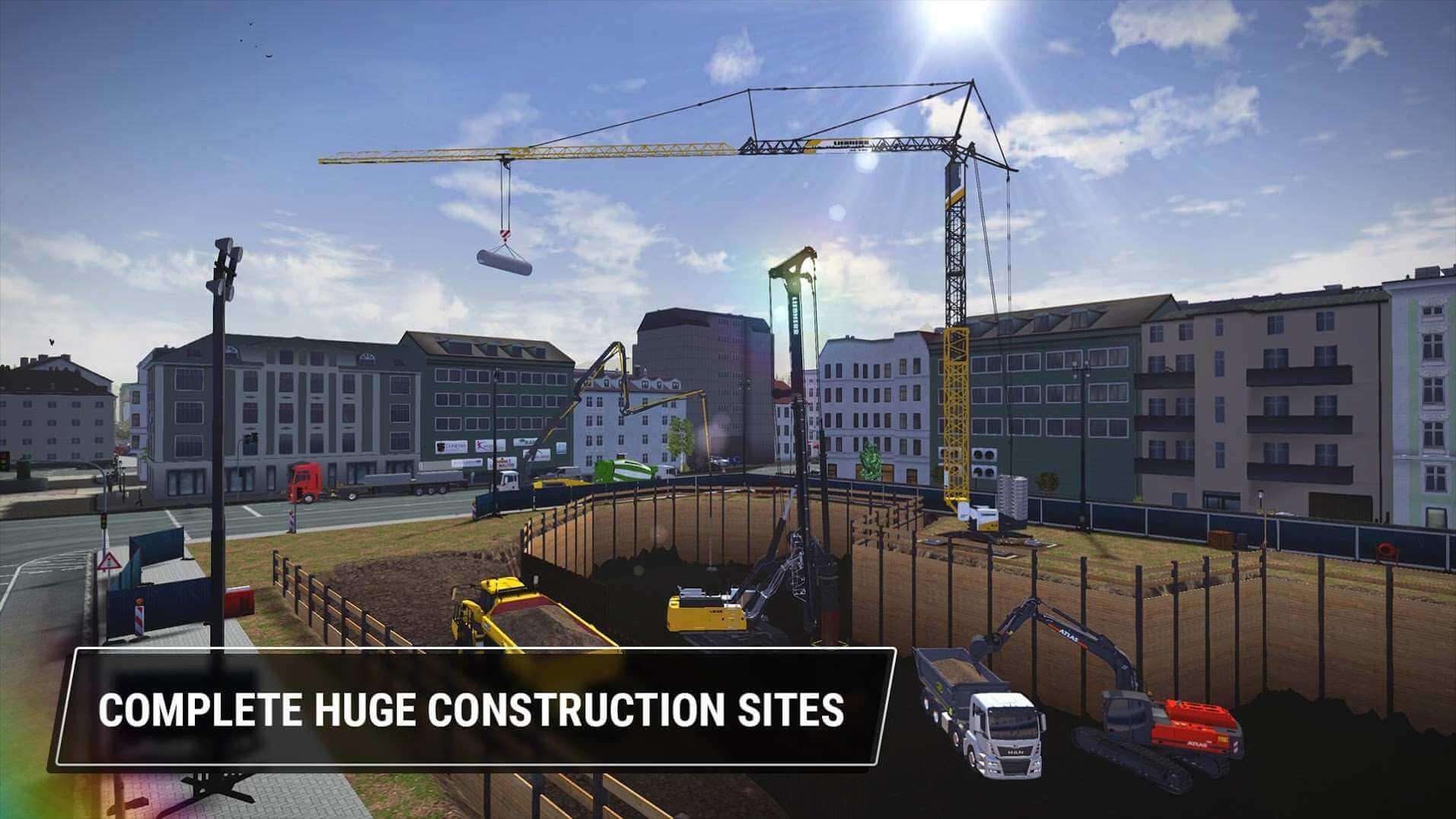 تنزيل Construction Simulator 3 1.2 مهكرة كاملة للاندرويد