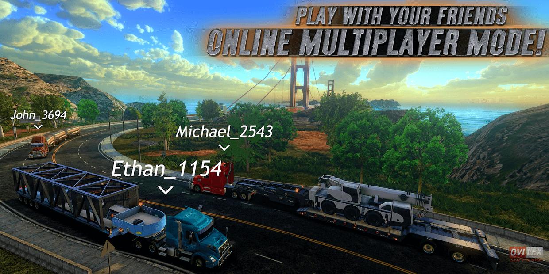 تحميل Truck Simulator USA مهكرة اخر اصدار للاندرويد
